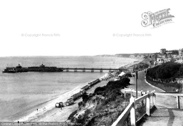 Bournemouth, From East Cliff 1904