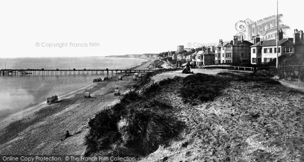 Bournemouth, From East Cliff c.1869