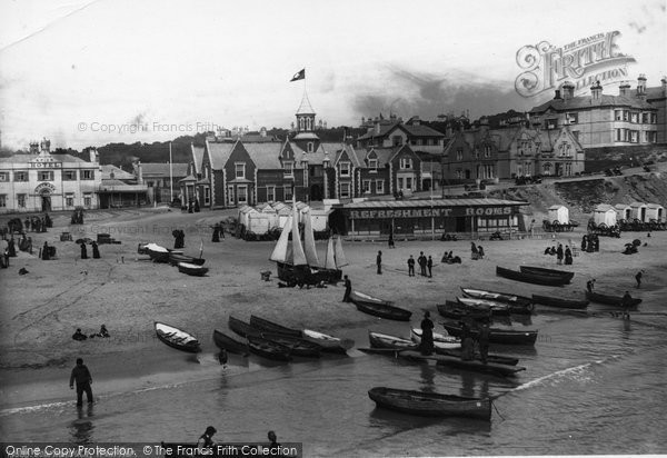 Bournemouth, From Pier 1887