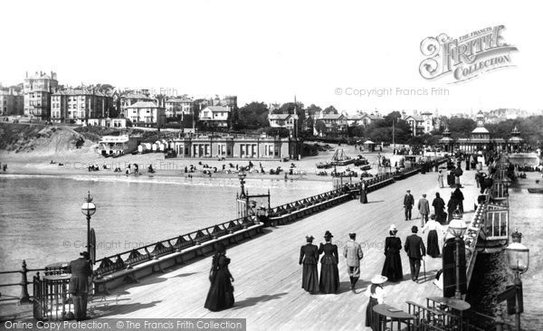 Bournemouth, From The Pier 1897