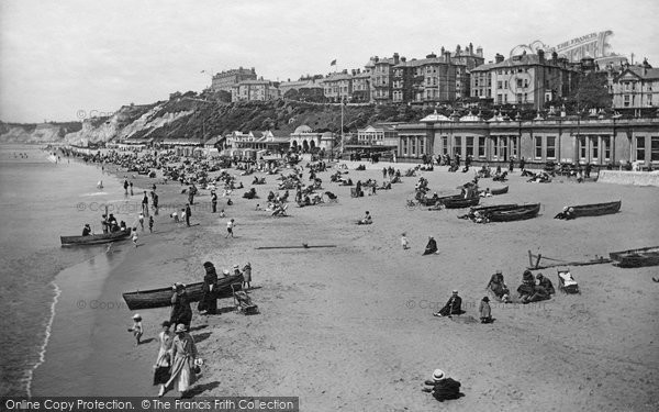 Bournemouth, From The Pier 1918