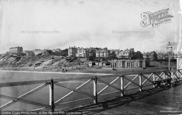 Bournemouth, From The Pier c.1875