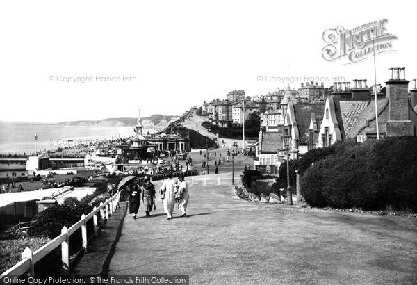 Bournemouth, From West Cliff 1922