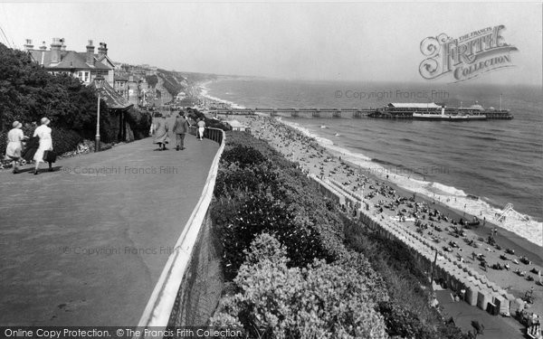 Bournemouth, From West Cliff 1933