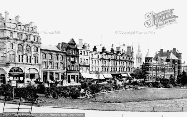 Bournemouth, Gardens 1890