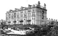 Bournemouth, Highcliffe Mansions Hotel 1887