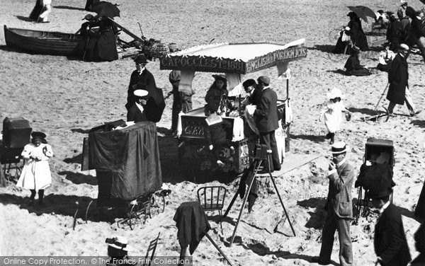 Bournemouth, Ice Cream Stall, East Cliff 1897