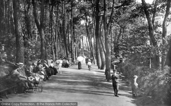 Bournemouth, Invalid's Walk 1900