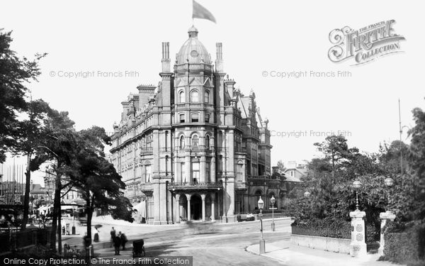 Bournemouth, Metropole Hotel 1900
