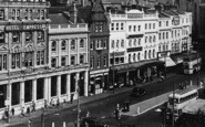 Bournemouth, Old Christchurch Road c.1955