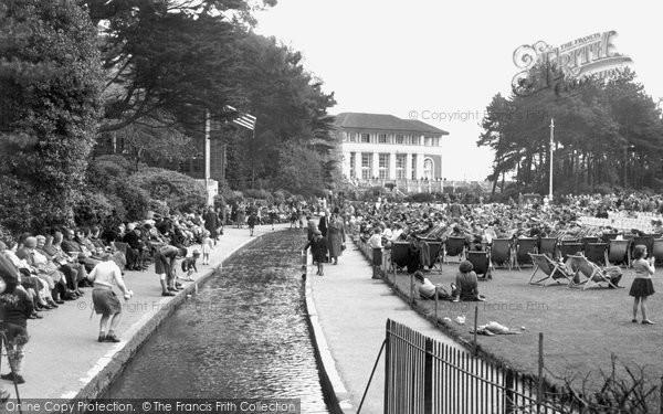 Bournemouth, Pavilion Gardens c.1955
