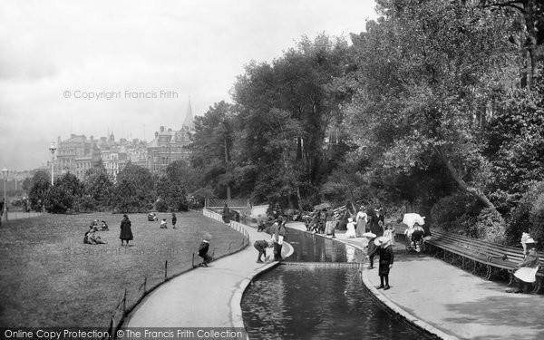 Bournemouth, Pleasure Gardens 1900