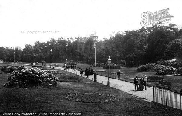 Bournemouth, Pleasure Grounds 1900