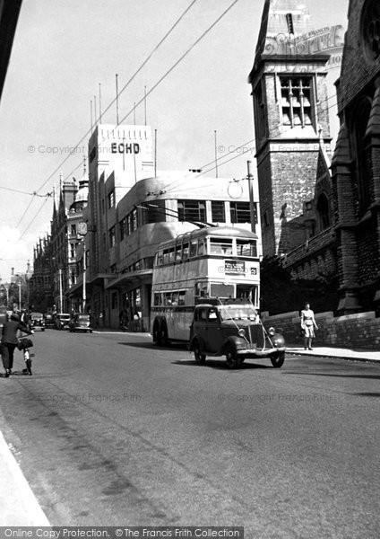 Bournemouth, Richmond Hill c.1950