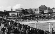 Bournemouth, Seafront From The Pier c.1935