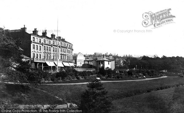 Bournemouth, Southbourne Terrace c.1875
