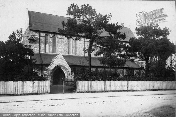 Bournemouth, St Michael's Church And Lychgate 1887
