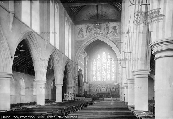 Bournemouth, St Michael's Church Interior 1892