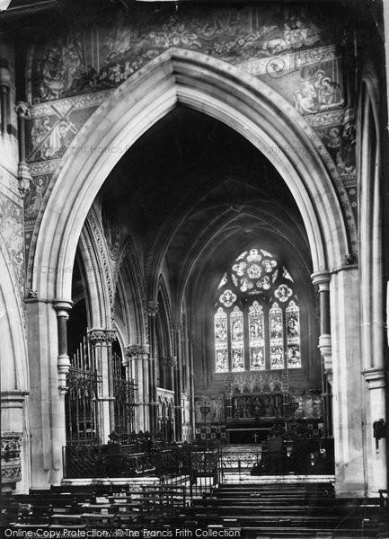 Bournemouth, St Peter's Church Choir 1887