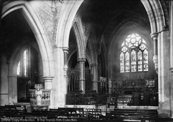 Bournemouth, St Peter's Church Choir 1887