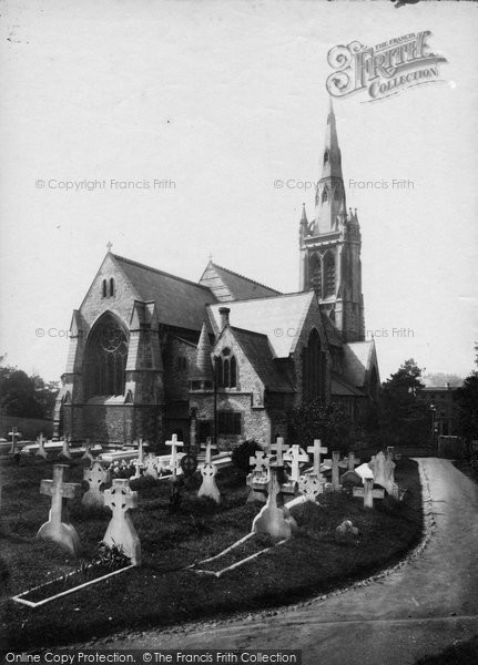 Bournemouth, St Peter's Church From The North East 1887