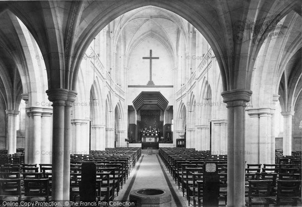 Bournemouth, St Stephen's Church Interior 1887