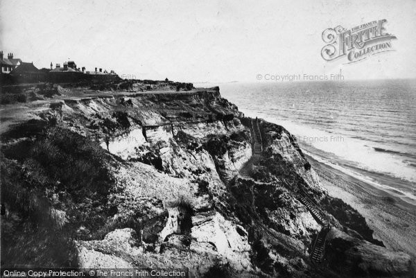 Bournemouth, Steps Chine 1887