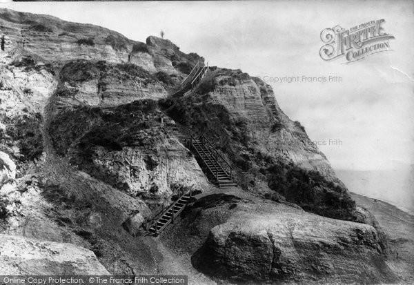 Bournemouth, Steps Chine 1887