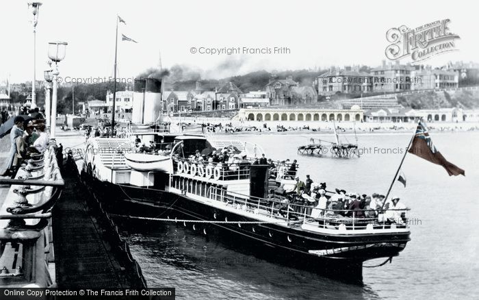 Bournemouth, Swanage Boat 1908