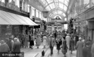 Bournemouth, The Arcade c.1955