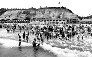 Bournemouth, The Bathing Beach 1925