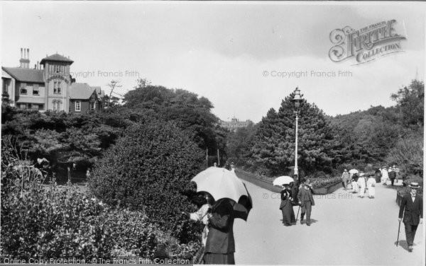 Bournemouth, The Gardens 1912