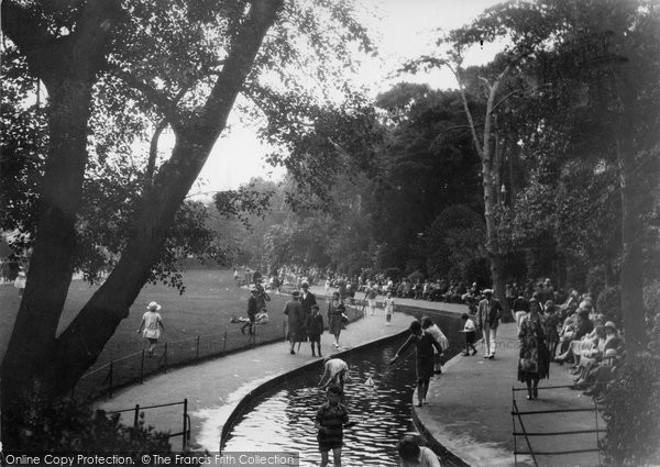 Bournemouth, The Gardens, Chlidren's Corner 1931