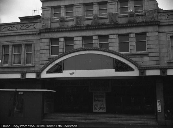 Bournemouth, The Grand Cinema, Westbourne 1970