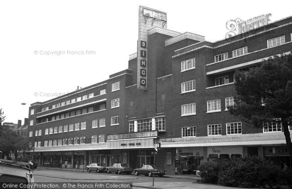 Bournemouth, The Odeon Cinema, Lansdowne 1970