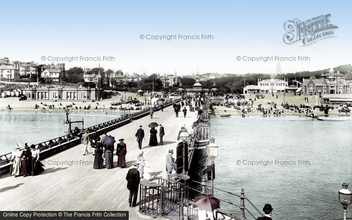 Bournemouth, The Pier 1897
