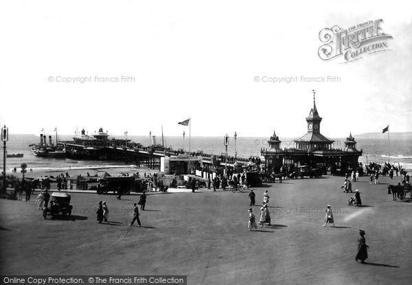 Bournemouth, The Pier 1922
