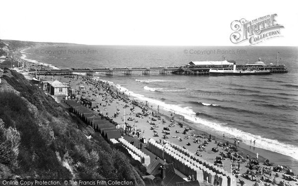 Bournemouth, The Pier 1933