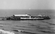 Bournemouth, The Pier, A Paddle Steamer 1933