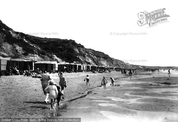 Bournemouth, The Sands 1922