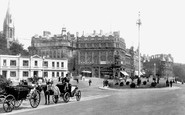 Bournemouth, The Square 1900