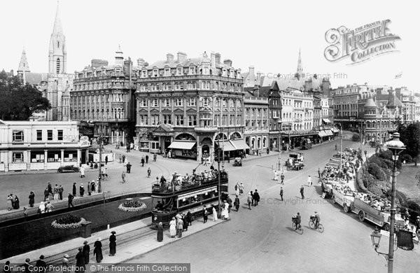 Bournemouth, The Square 1922