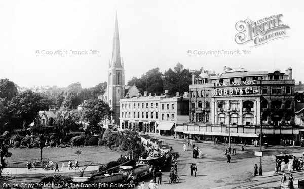 Bournemouth, The Square 1922