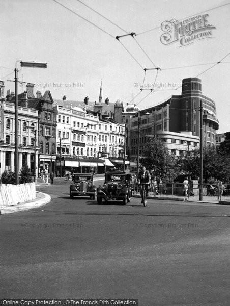 Bournemouth, The Square c.1950
