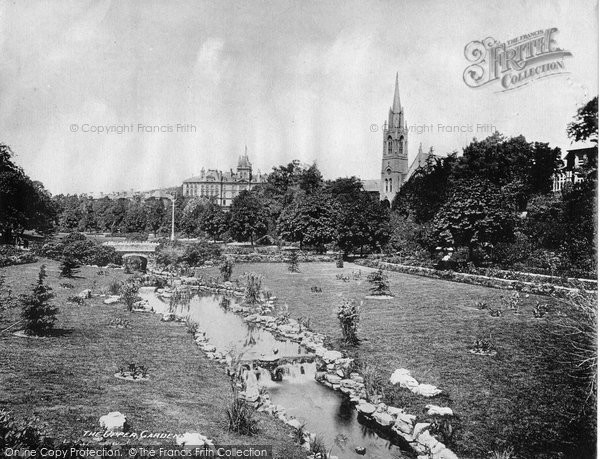 Bournemouth, The Upper Garden c.1900