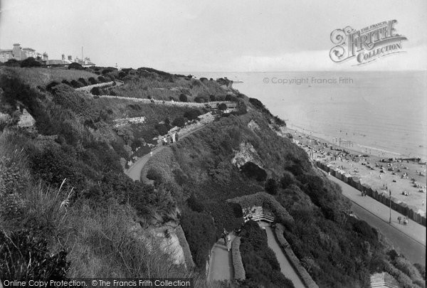 Bournemouth, The Zig Zag Walk 1923