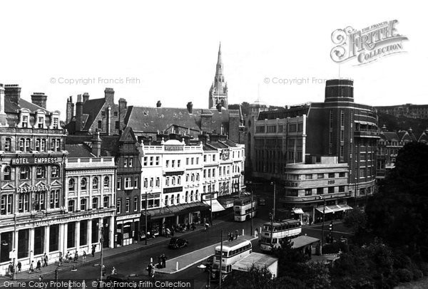 Bournemouth, Town Centre c.1960