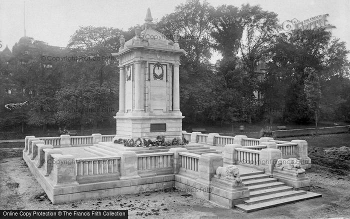 Bournemouth, War Memorial 1923