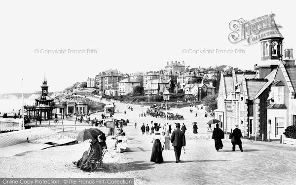 Bournemouth, West Cliff From East 1897