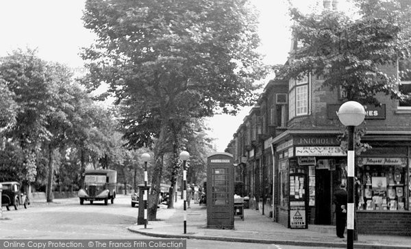 Bournville, Mary Vale Road 1949